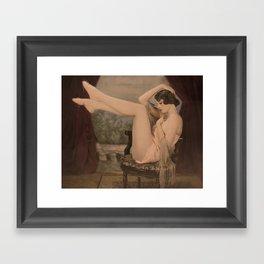 Painted 20's Framed Art Print
