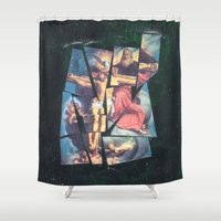 jesus Shower Curtains featuring Jesus by Ibbanez