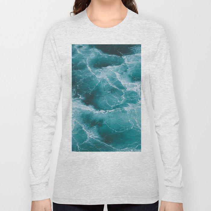 Electric Ocean Long Sleeve T-shirt