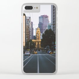 Always Melbourne Clear iPhone Case