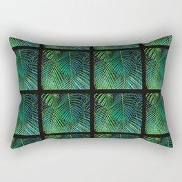 Jungle Squares Rectangular Pillow