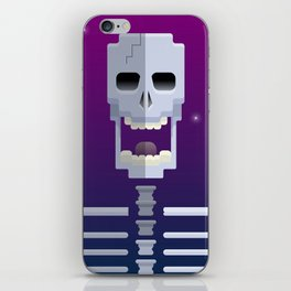 Cosmic Skull iPhone Skin