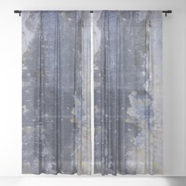 Concrete Jungle #1 Sheer Curtain