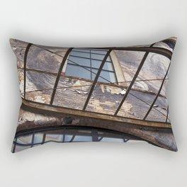 OLD FACTORY BUILDING Rectangular Pillow
