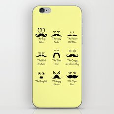 Eyes and Facial Hair iPhone & iPod Skin