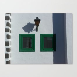 Shadows and Windows Canvas Print