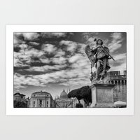 rome Art Prints featuring Rome by unaciertamirada