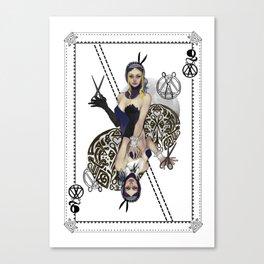 Queen of Scissors Canvas Print