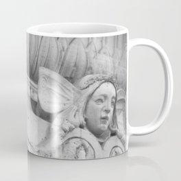 Paris Père Lachaise - Scull and Angel  Coffee Mug