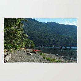 Lake Cresent Shore Rug