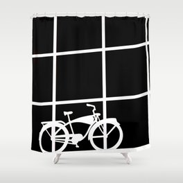 RIDIN Shower Curtain
