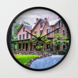 Rutherford B. Hayes Home Wall Clock