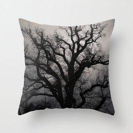 November Mood Throw Pillow