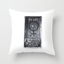 BJ 581 Throw Pillow