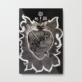 All Mighty Heart Metal Print