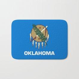 flag of oklahoma-Oklahoma,south,Oklahoman,Okie, usa,america,Tulsa,Norman,Broken Arrow Bath Mat