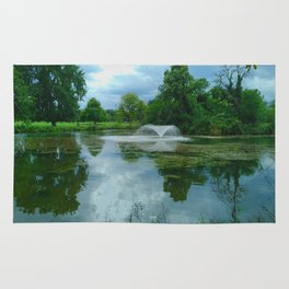 Beauty in the Park - Clissold Park Stoke Newington London Rug