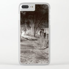 Searching for Symmetry Clear iPhone Case