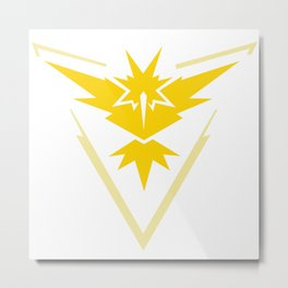 Team Instinct - Zapdos Metal Print