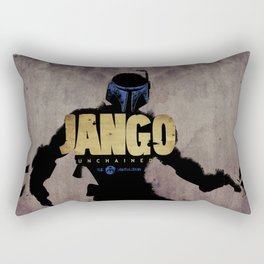 Jango Unchained Rectangular Pillow