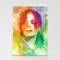 michael scott Stationery Cards featuring Michael by Aurora Wienhold