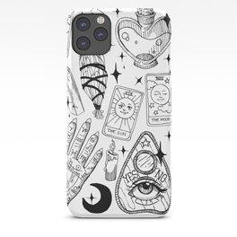 Fortune Teller Starter Pack Black and White iPhone Case