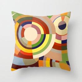 Colour Revolution SIX Throw Pillow