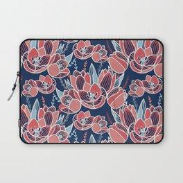 Papercut tulips Laptop Sleeve