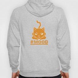 #MOOD Cat Orange Hoody