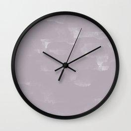 Rose Grey Digital Art | Digital Design | Pattern Wall Clock