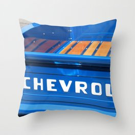 In my chevy truck  Throw Pillow
