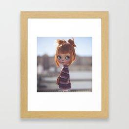 Carmencita Blythe doll y Erregiro Framed Art Print