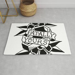 fatally yours  Rug