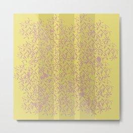 Lilac Flowers - Buttercup Metal Print