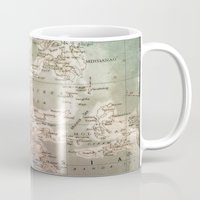atlas Mugs featuring atlas - indo by strentse