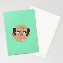 smoking baldy Stationery Cards
