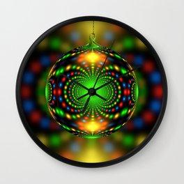 Christmas ornment Wall Clock