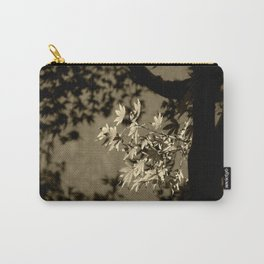 Maple in Sepia Carry-All Pouch