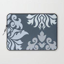 Ornate Damask Art I – Blues (B) Laptop Sleeve
