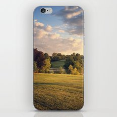 Golden Light Sunset Landscape iPhone & iPod Skin