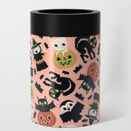 Halloween Gang Pink Can Cooler