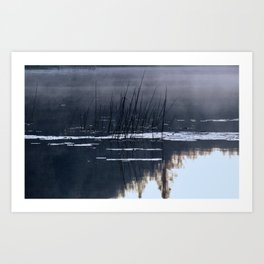 Mists on the Water Art Print