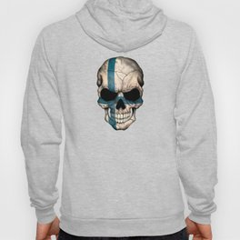 Dark Skull with Flag of Finland Hoody