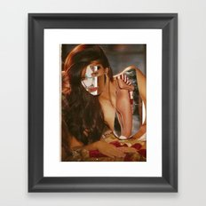 Figure in the Dark - Print Framed Art Print