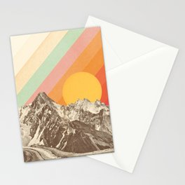 Mountainscape 1 Stationery Cards