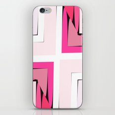 Pink Corners iPhone & iPod Skin
