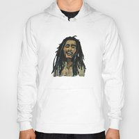 rasta Hoodies featuring Rasta  Man by gretzky