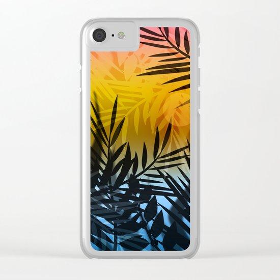 Hot summer . Heat . Clear iPhone Case