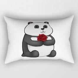 Panda Rose Rectangular Pillow