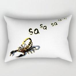 Let it Die - Sa-ri Scorpion (Trail) Rectangular Pillow